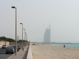 burj al arab in the background