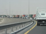 traffic jam emirates road