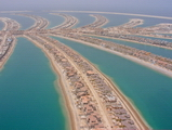 The Palm Jumeirah is close to completion