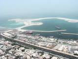 deira in the foreground